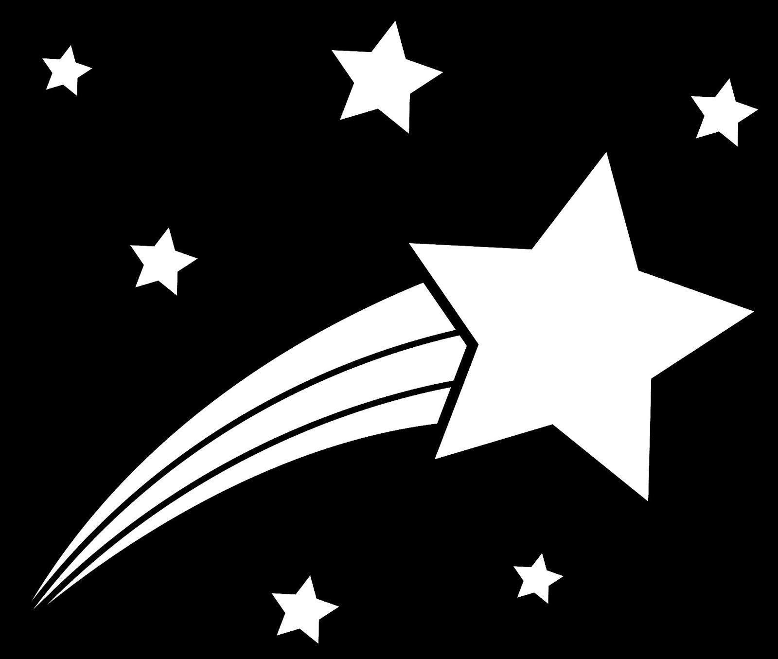 Shooting star transparent clipart 2