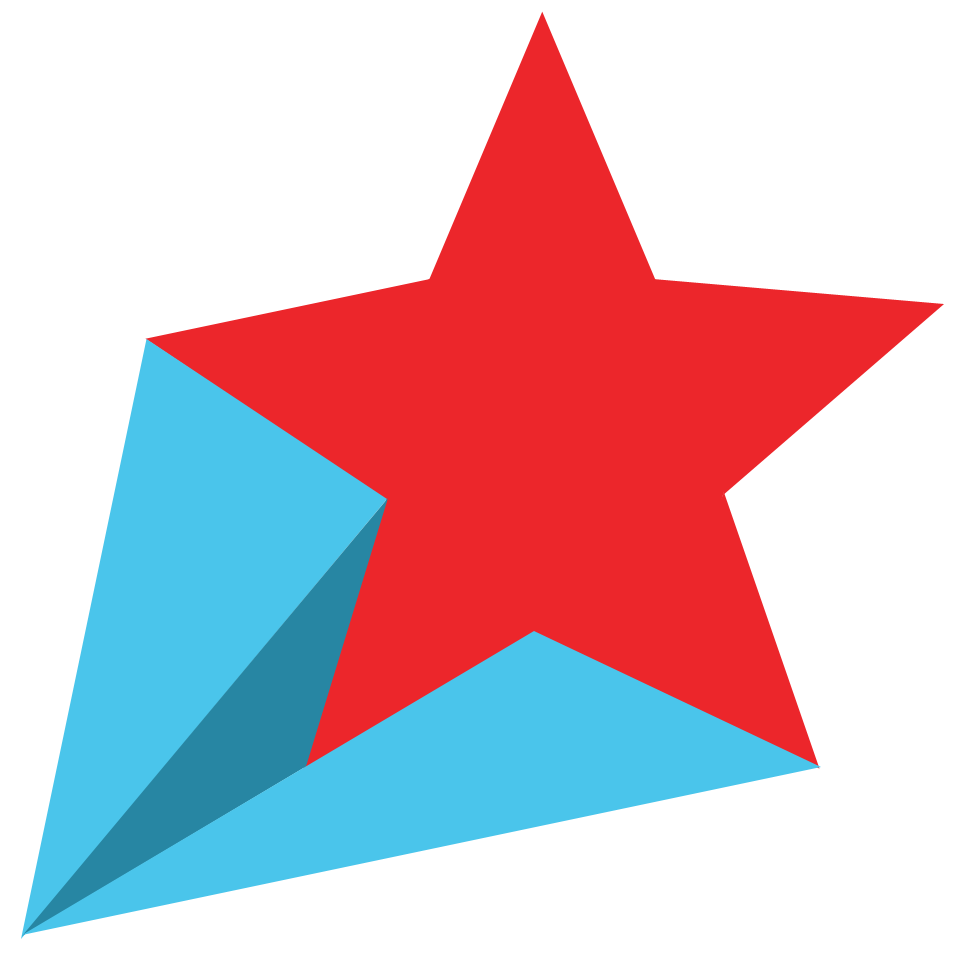 Shooting star transparent clipart 4