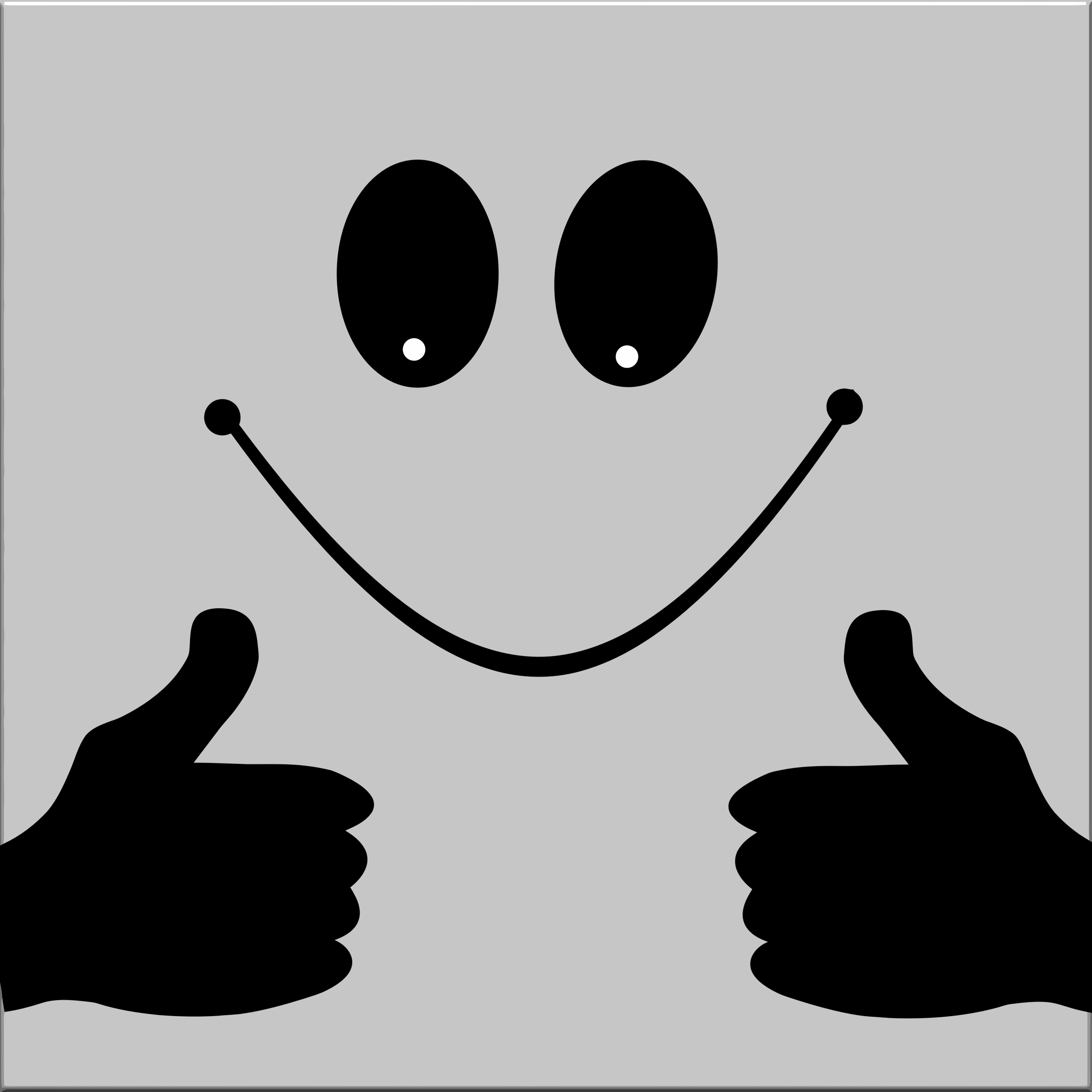 Smiley face thumbs up clipart thumbs up smiley face 3