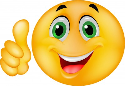 Smiley face thumbs up thank you free clipart images 2