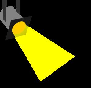 Spotlight clip art free clipart images 3