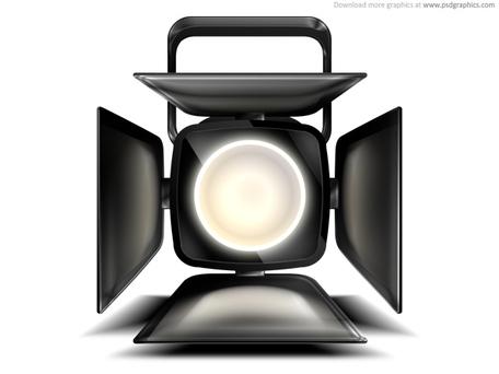 Spotlight clip art vector graphics