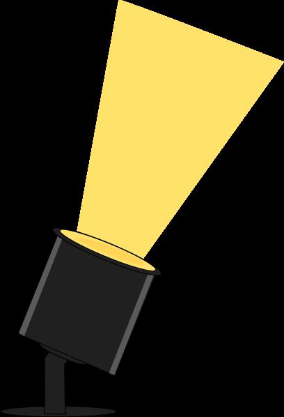 Spotlight clipart 3