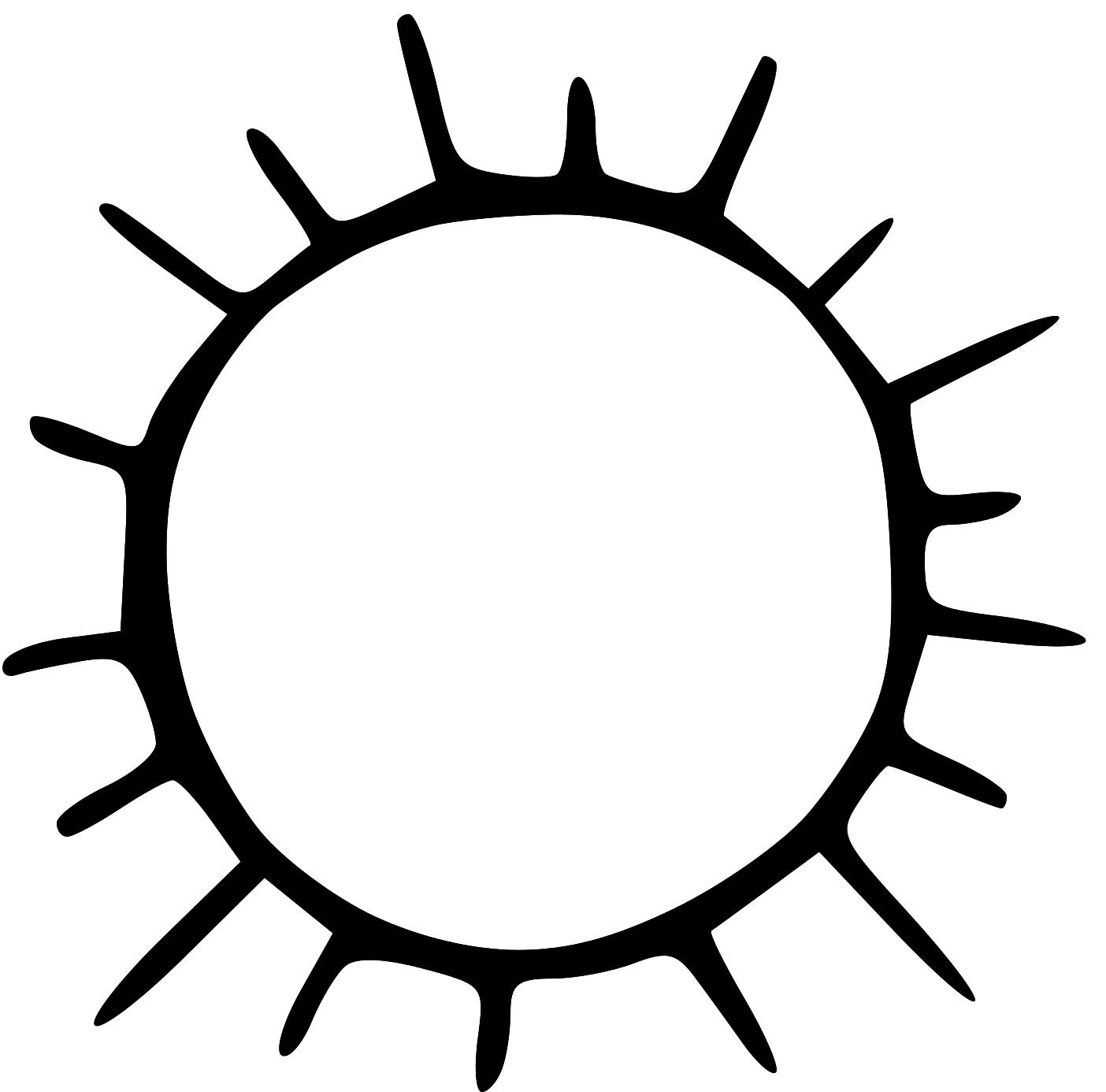 Sun  black and white sun black and white clipart 2