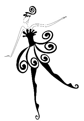 Tap shoes ballet and tap dance clipart