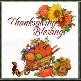 Thanksgiving blessings clipart pictures free 2