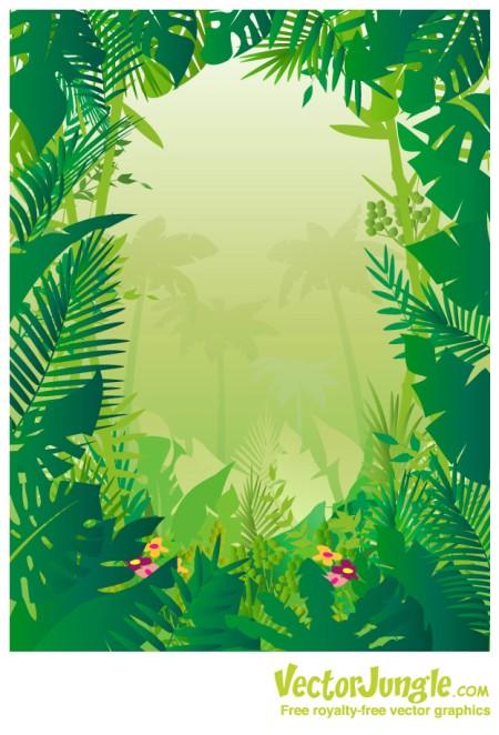 Tropical jungle clip art safari clipart animal