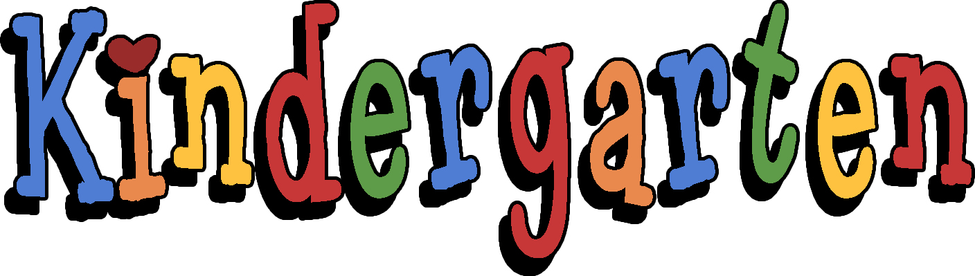 Welcome to kindergarten clipart free images 5