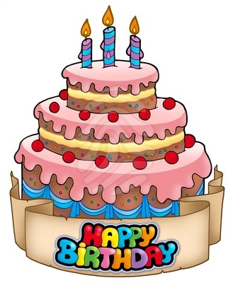 1st birthday cake clipart free images