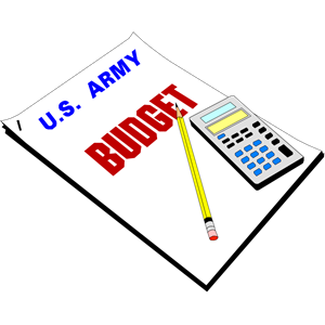 Army budget clipart cliparts of free download wmf