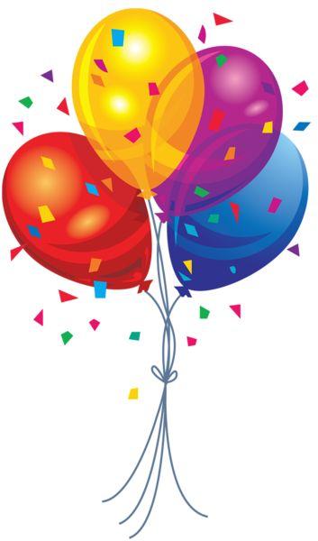 Balloons clip art 2