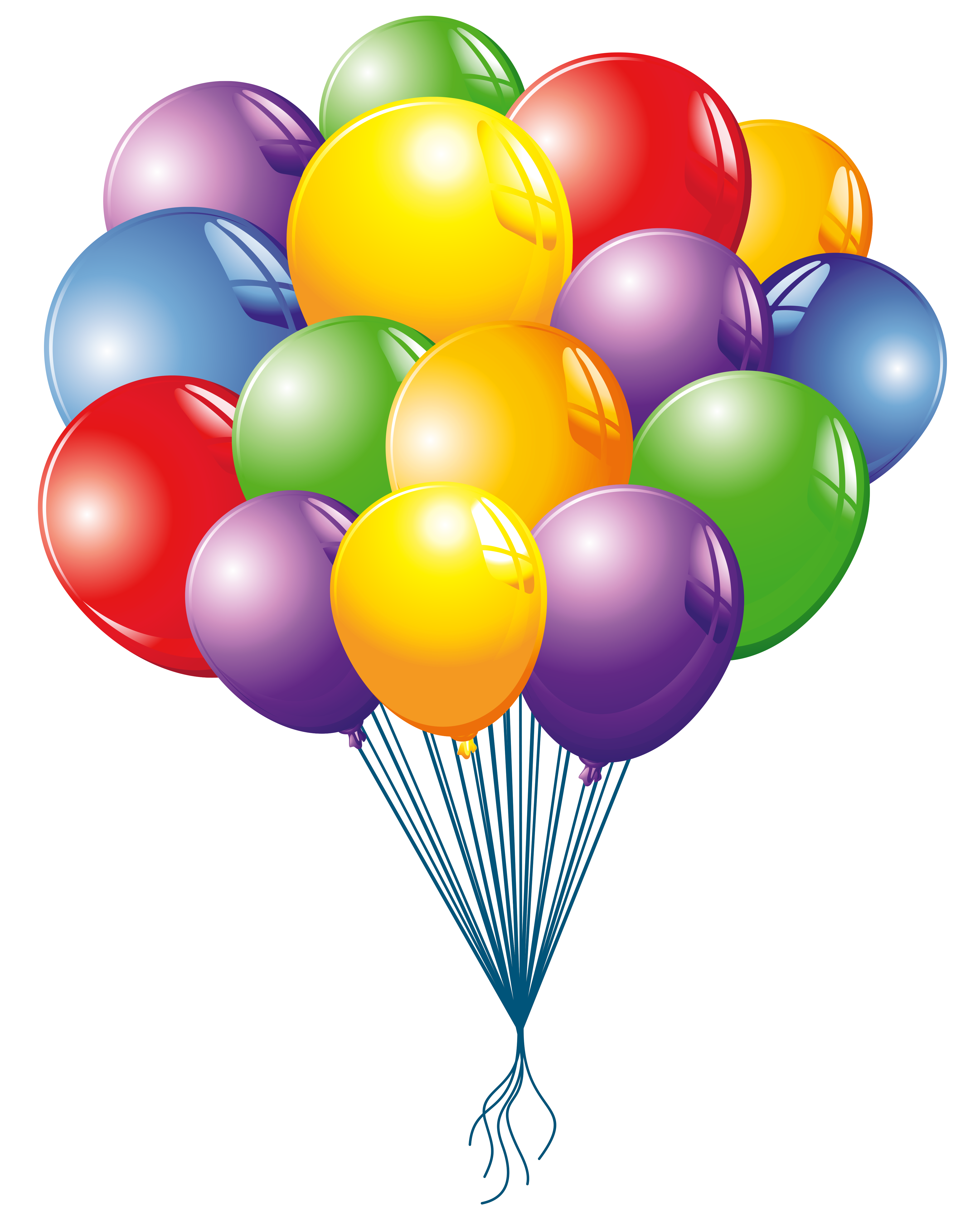 Balloons clipart images logo more