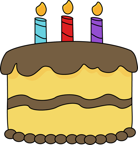 Birthday cake birthday clip art images