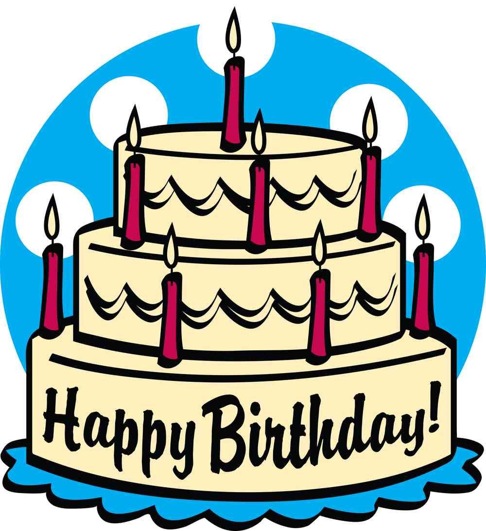 Birthday cake clip art free birthday clipart