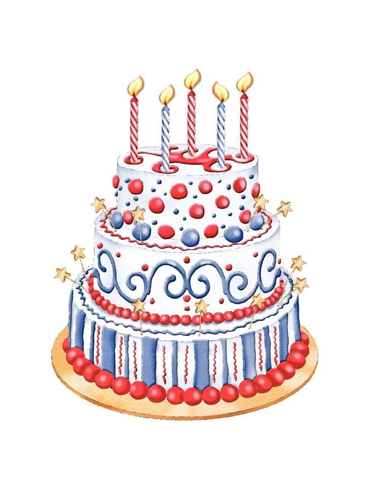 Birthday cake clip art happy birthday clipart 2 image 2
