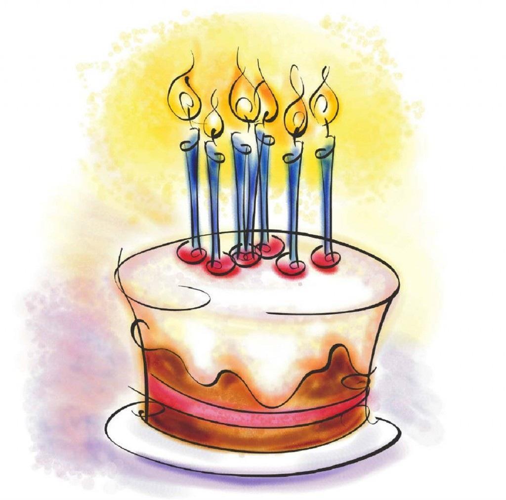 Birthday cake clip art image inspiring cakes ideas 3