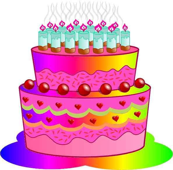 Birthday cake clipart 10