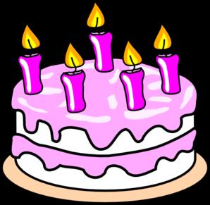 Birthday cake clipart 3