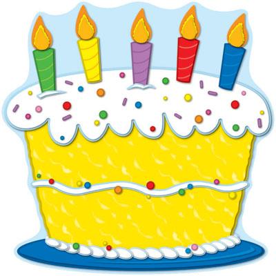Birthday cake clipart 6