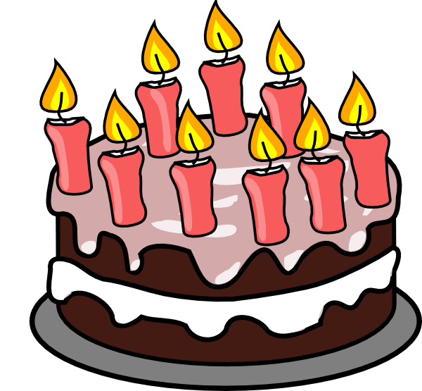 Birthday cake clipart 7
