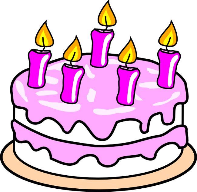 Birthday cake clipart 8