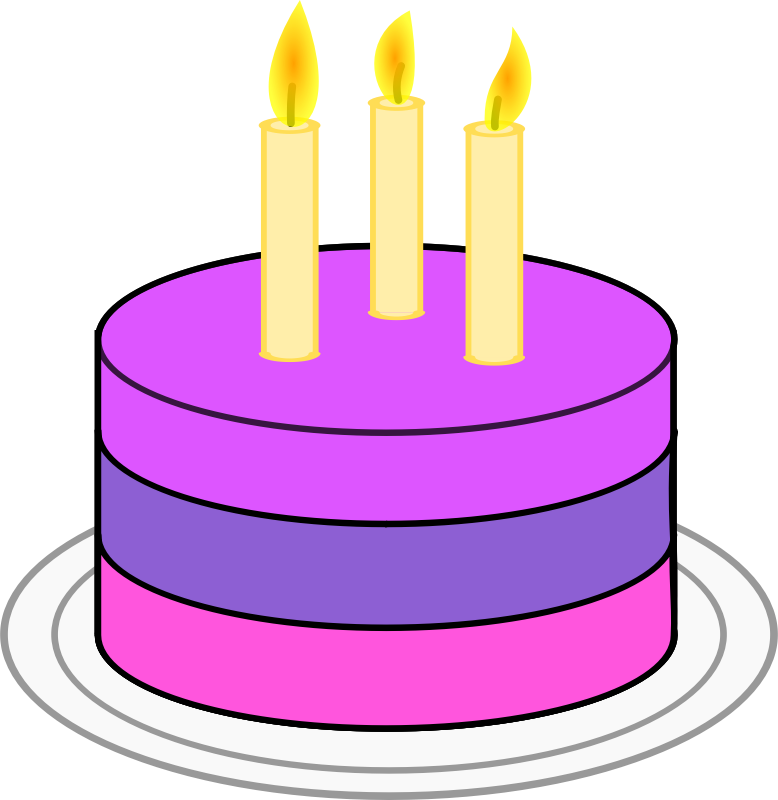 Birthday cake free to use clip art