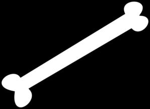 Bone clip art at vector clip art free