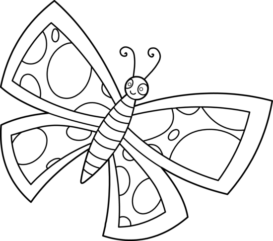 Butterfly  black and white butterfly clipart black and white 3