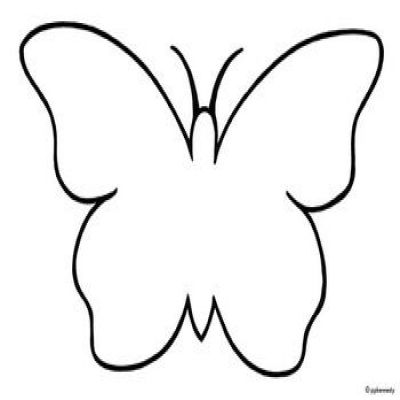 Butterfly  black and white butterfly clipart black and white only