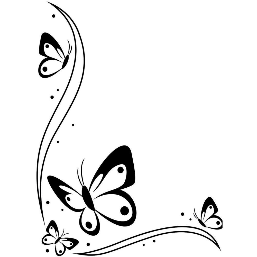Butterfly  black and white butterfly kisses black and white clipart logo more
