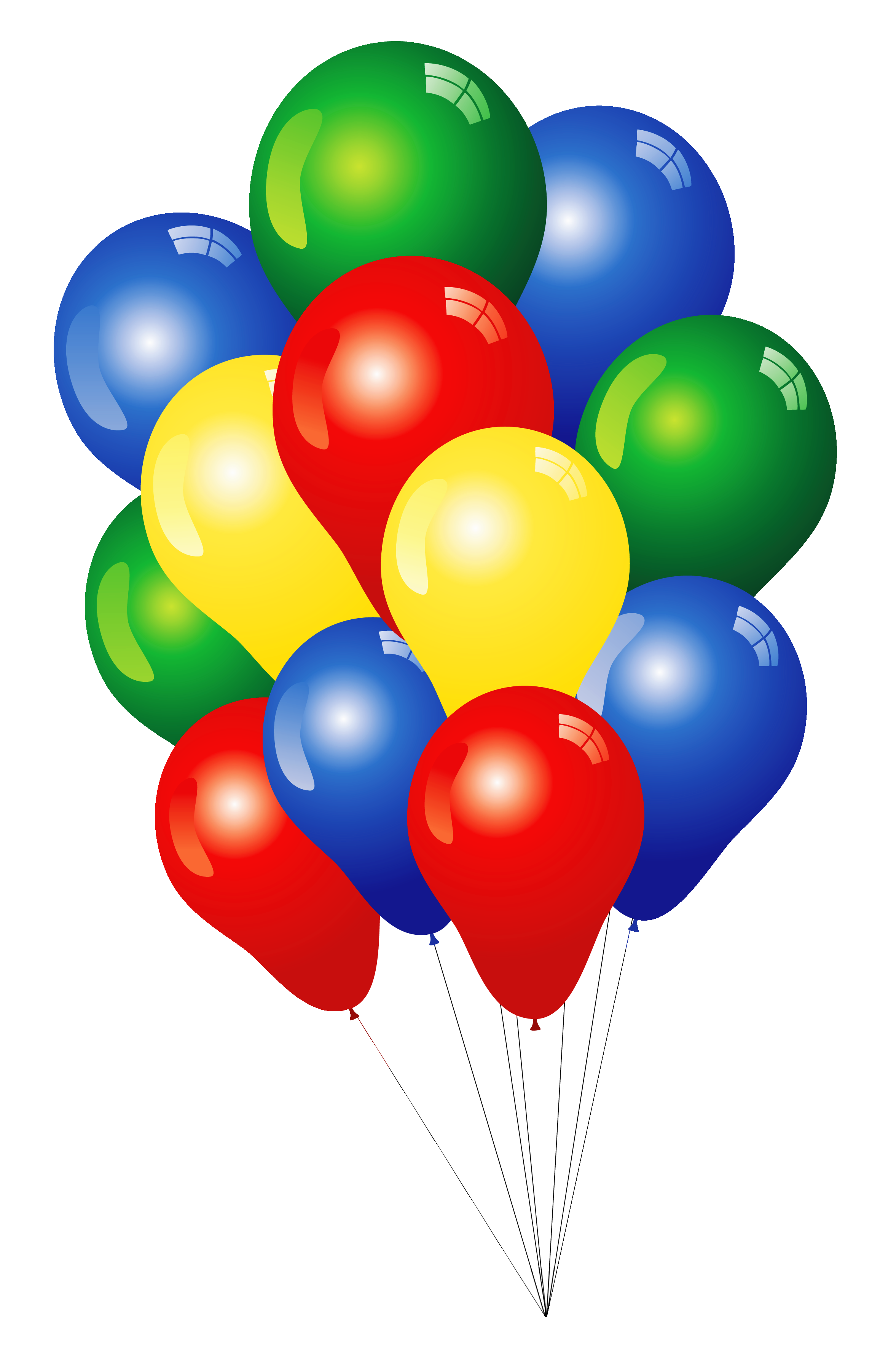 Clip art balloons clipart image 2