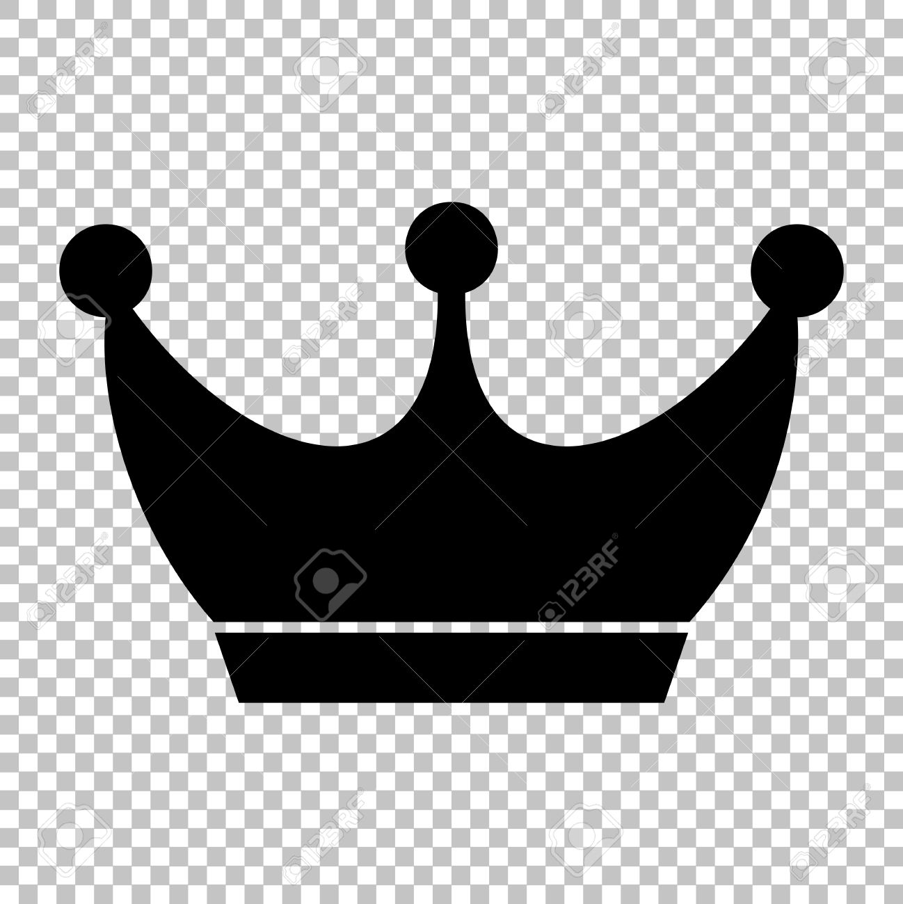 Crown transparent showing post 4