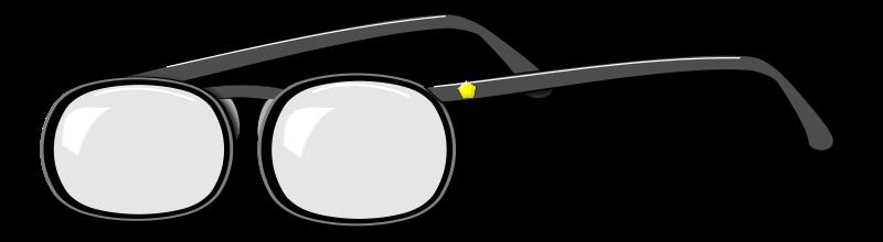 Cute eyeglasses clipart
