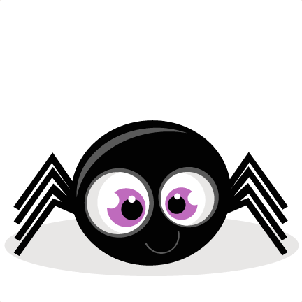 Cute spider clipart synkee 2