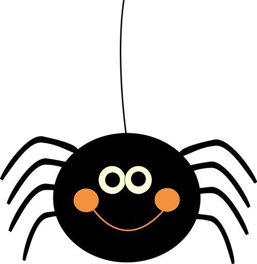 Cute spider clipart
