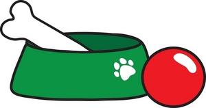 Dog bone border clip art free clipart images 3