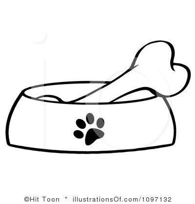 Dog bone border clipart free images 4