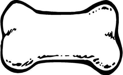 Dog bone chew clip art images free clipart image 3