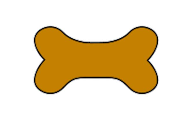 Dog bone clipart 2