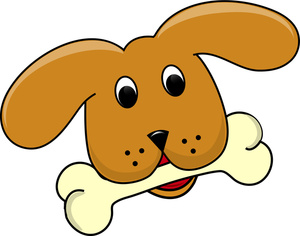 Dog bone clipart free images 3