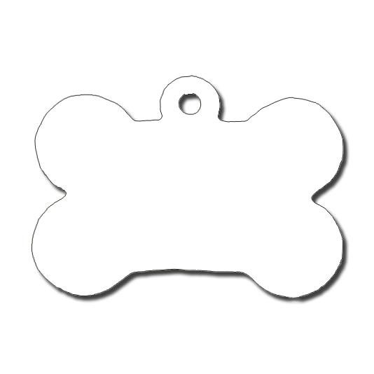 Dog bone shape clipart