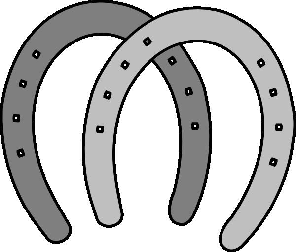 Double horseshoe clipart free images