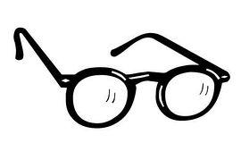 Eyeglasses clip art 2