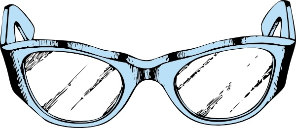 Eyeglasses eye glasses clip art free vector in open office drawing svg