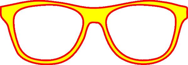 Eyeglasses frames clipart