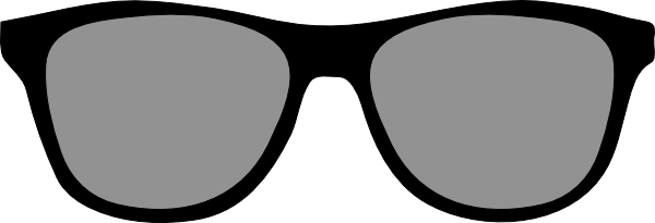 Eyeglasses showing post clipart 2