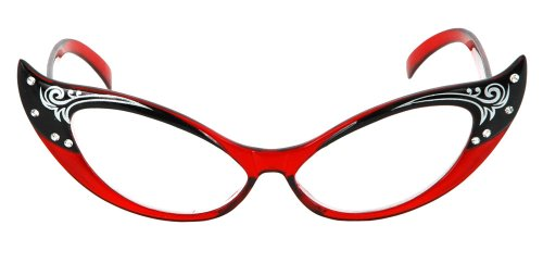 Eyeglasses showing post clipart