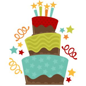 Fancy birthday cake clipart inspiring cakes ideas