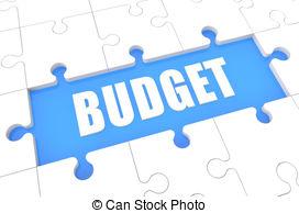 Financial budget clipart cartoon