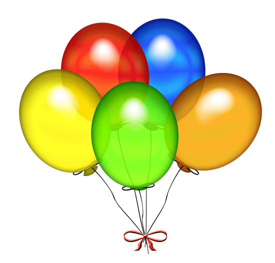 Free birthday balloon clip art clipart images 4